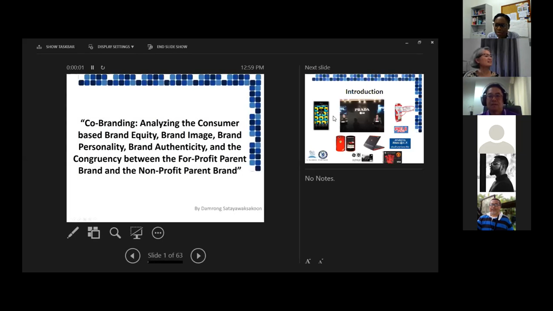 Co-branding: Analyzing the Consumer-based Brand Equity, Brand Image, Brand Personality, Brand Authenticity, and the Congruency between the For-Profit Parent Brand and the Non-Profit Parent Brand